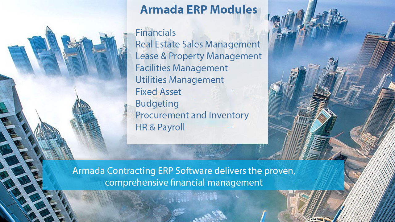 Contracting ERP Software